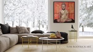 Buddha Art by Tom Roderick Art